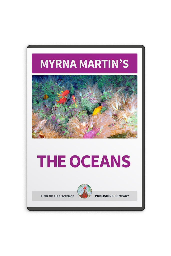 The Oceans Video by Myrna Martin - Kids Fun Science Bookstore