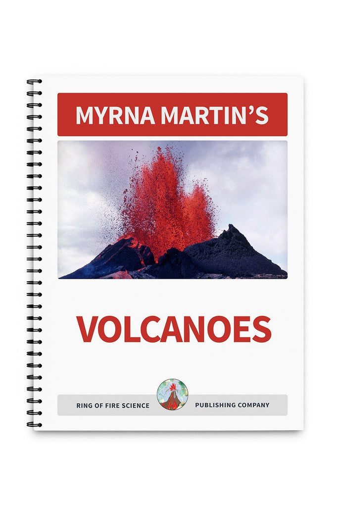 Volcanoes Book by Myrna Martin - Kids Fun Science Bookstore