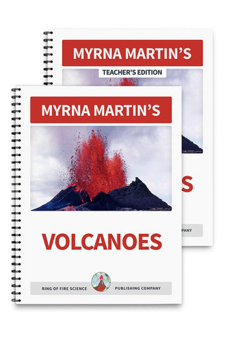 Volcanoes Book Plus Teacher's Edition - Kids Fun Science Bookstore