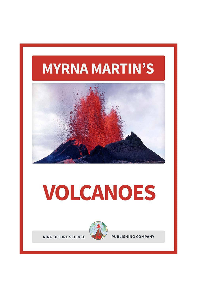 Volcanoes e-Book by Myrna Martin - Kids Fun Science Bookstore