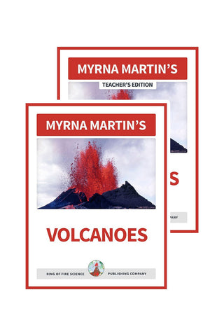 Volcanoes e-Book Plus Teacher's Edition - Kids Fun Science Bookstore