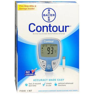 Bayer Contour Glucose Meter, an important diabetic medical supply from NYC Diabetes Supplies