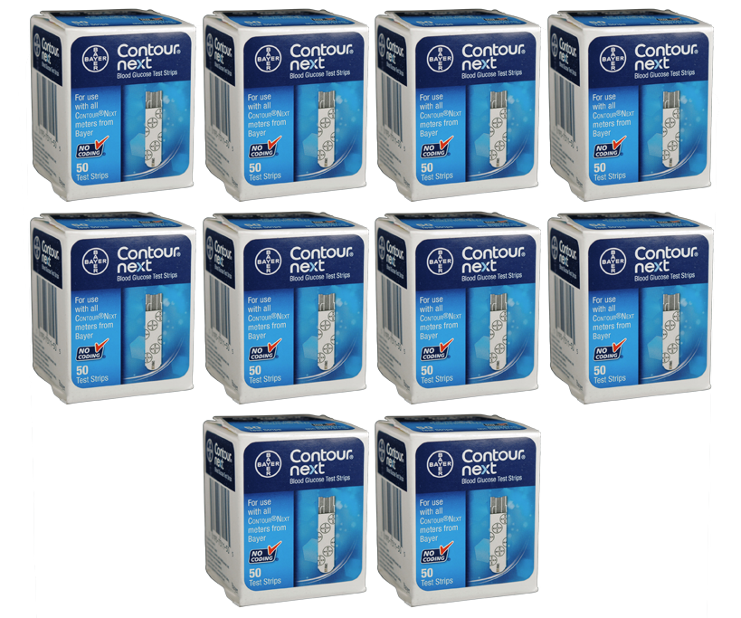 500 Bayer Contour Next Test Strips for sale from our mail-order diabetic supply company.