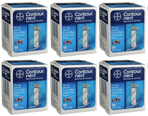 300 Bayer Contour Next Test Strips diabetic test strips for sale from a mail order diabetic supply company.