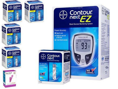 Bayer Contour Next Glucose Test Strips Starter Bundle from NYC Diabetes Supplies