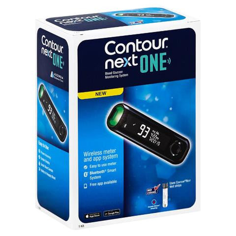 Bayer Contour Next ONE diabetic glucose monitor from NYC Diabetes Supplies