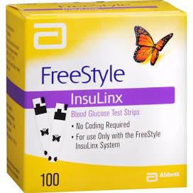 Freestyle Insulinx Test Strips for sale from NYC Diabetes Supplies