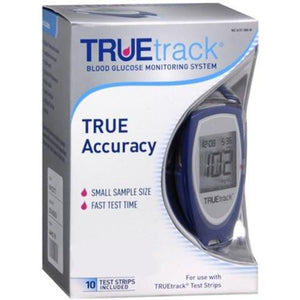 TRUEtrack Blood Glucose Machine from our mail-order diabetic supply company