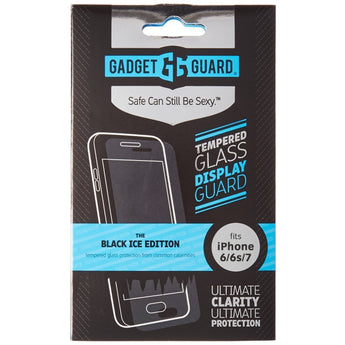 GADGET GUARD BLACK ICE EDITION TEMPERED GLASS SCREEN GUARD FOR APPLE IPHONE 6/IPHONE 6S/IPHONE 7