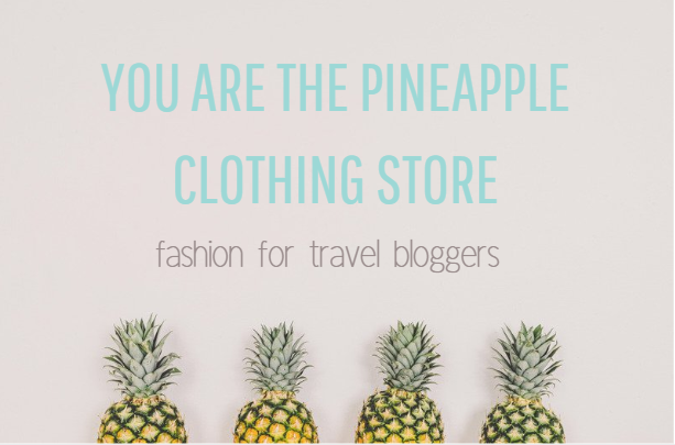 YOU ARE THE PINEAPPLE Clothing Store