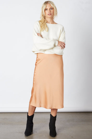 Travel Fashion Girl Midi Skirt