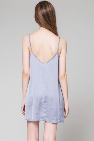 Traveler Pursuit Dress in Light Blue