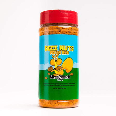 Deez Nuts Pecan Rub: Meat Church