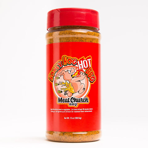 Honey Hog Hot: Meat Church BBQ Rub
