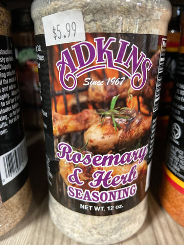Adkins: Rosemary and Herb Seasoning