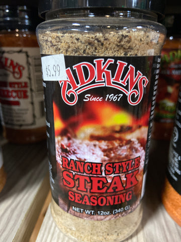 Adkins: Ranch Style Steak Rub