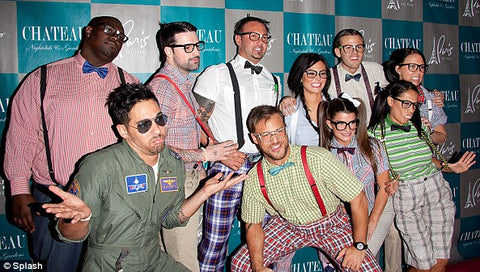 halloween suspenders costume party