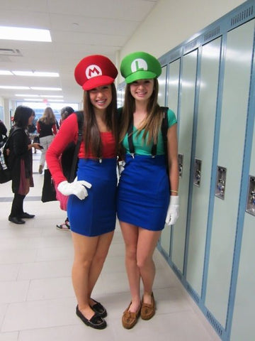 mario and luigi suspenders costumes