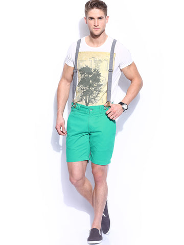 shorts with suspenders