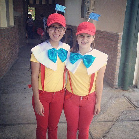 tweedle dee and tweedle dum suspenders costumes