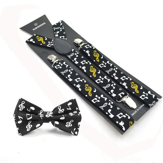 black music suspenders