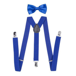 blue boys suspenders