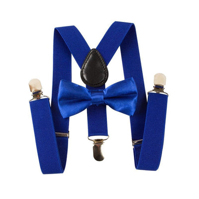 Toddler Suspenders & Bow Tie