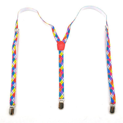 Colorful Suspenders
