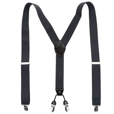 Clip-on Suit Suspenders