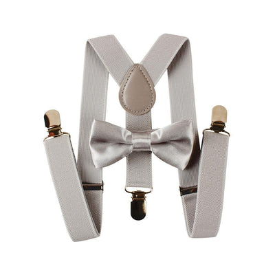 Toddler Suspenders & Bow Tie Set