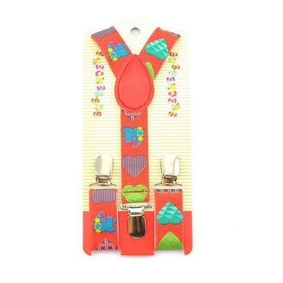 artsy hearts suspenders for kids