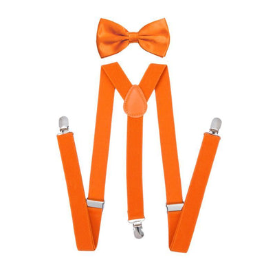 Boys Bow Tie & Suspenders Set
