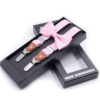 Formal Clip-on Suspenders Set