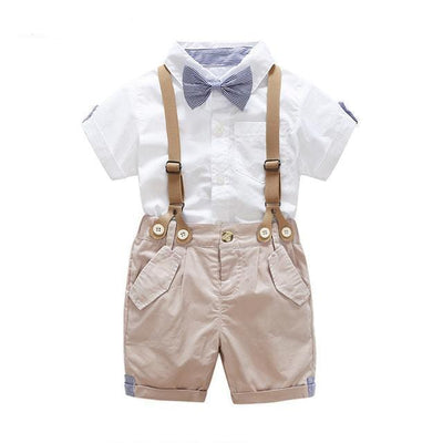 Cute Toddler Suspenders Outfit