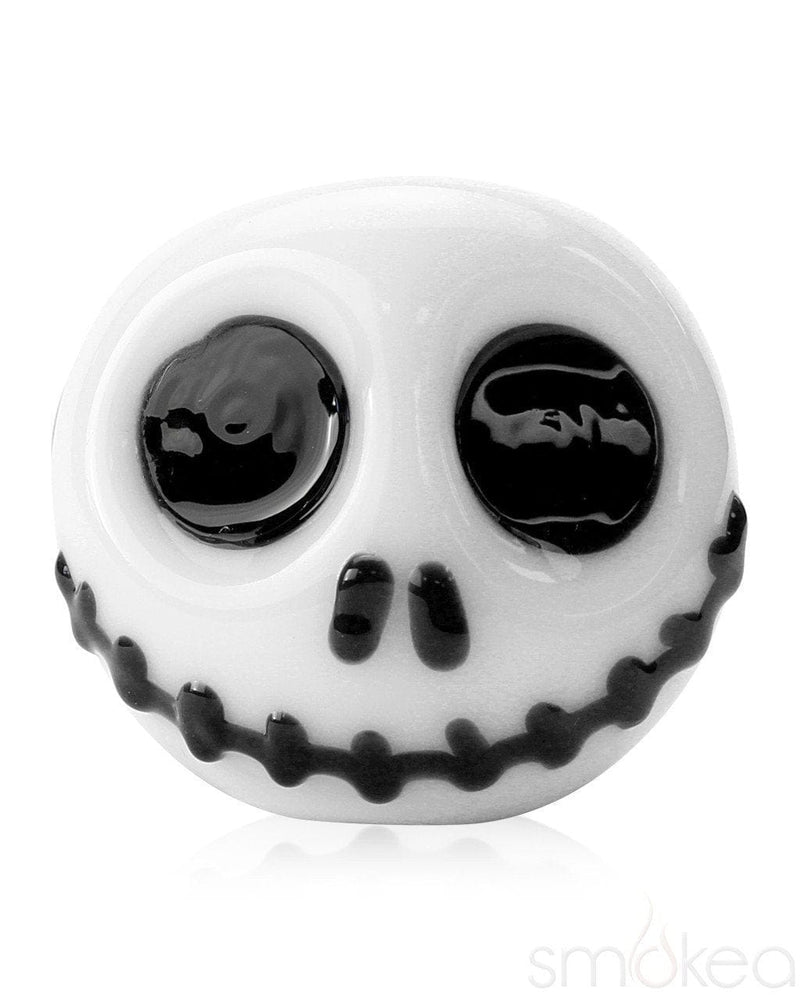 Chameleon Glass Skellington Spoon Hand Pipe - SMOKEA