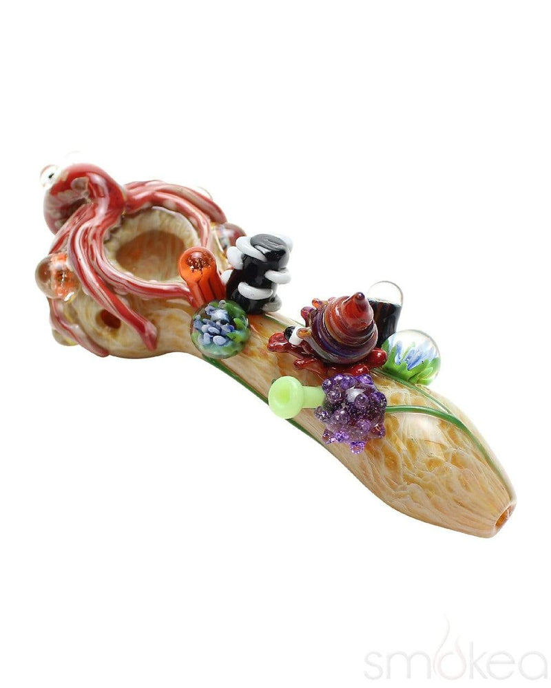 Empire Glassworks Small Kraken Spoon Pipe - SMOKEA®