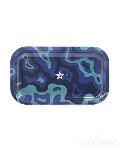 "Famous Designs ""Fabric"" Rolling Tray - SMOKEA"