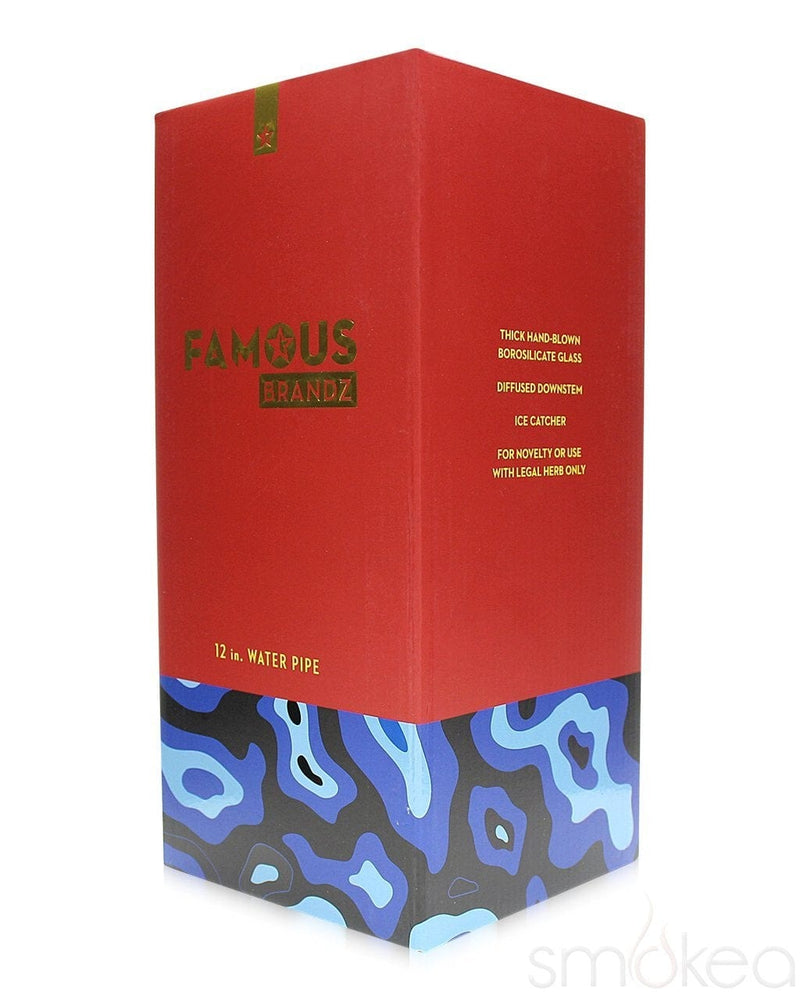 "Famous Designs ""Fabric"" Bong - SMOKEA"