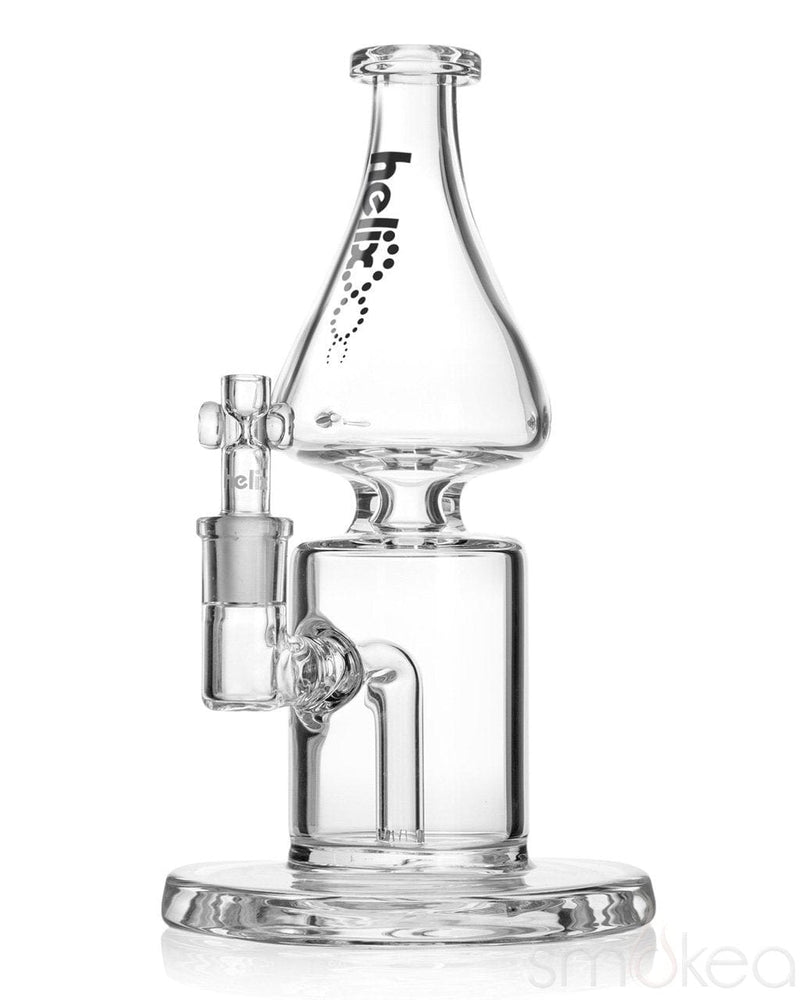 "GRAV 8.75"" Helix Flare Bong w/ Fixed Downstem - SMOKEA"