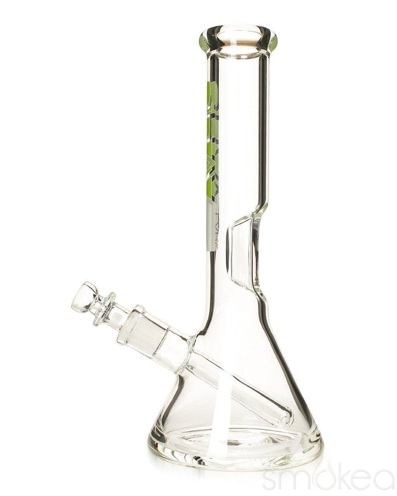 "GRAV 8"" Beaker Bong w/ Fixed Downstem - SMOKEA"