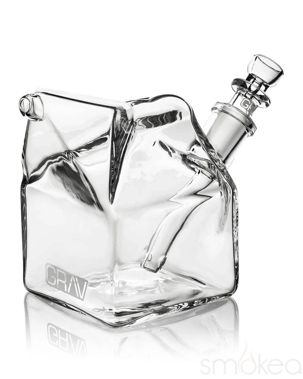 GRAV Sip Series Milk Carton Bubbler - SMOKEA