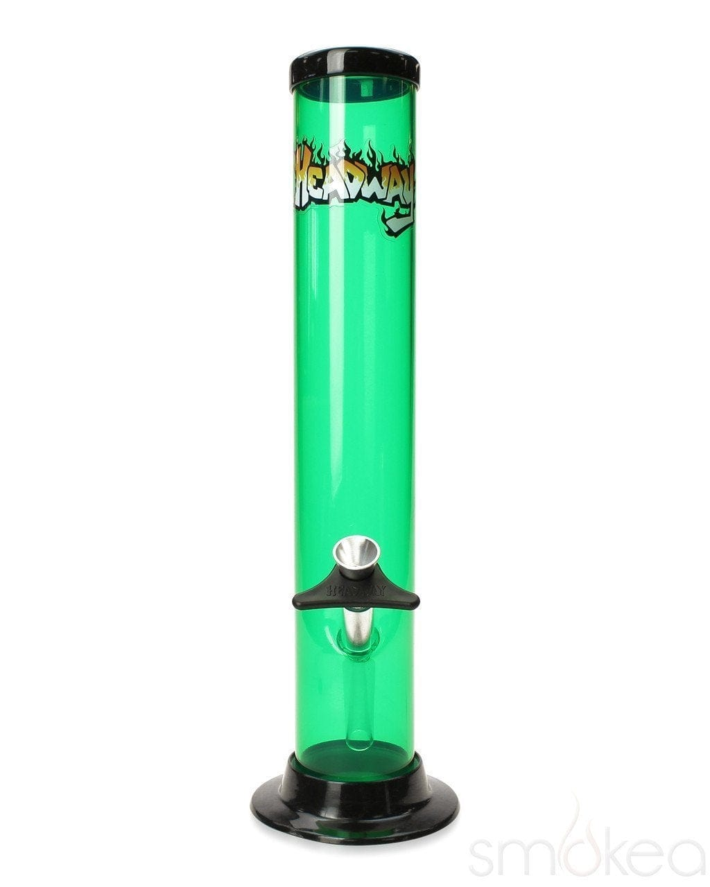 "Headway 12"" Straight Acrylic Bong - SMOKEA®"