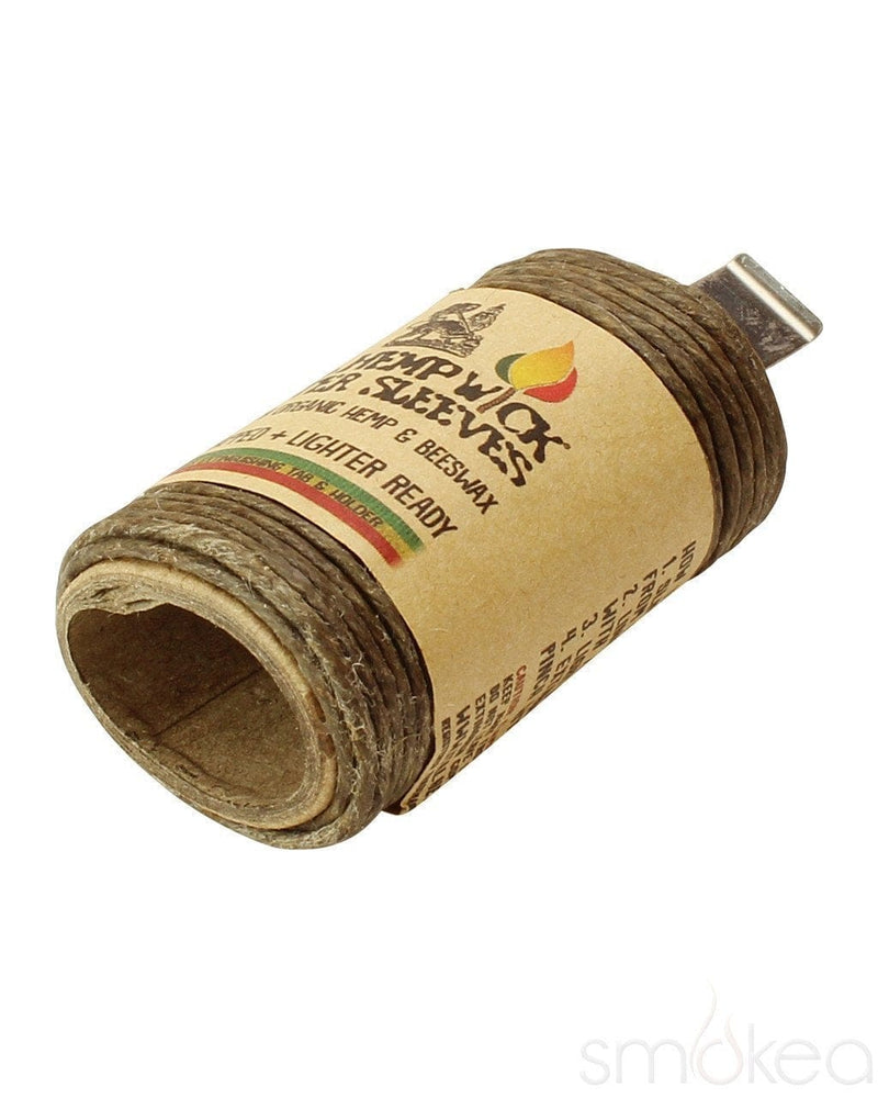 i-Tal Hemp Wick Lighter Sleeve - SMOKEA