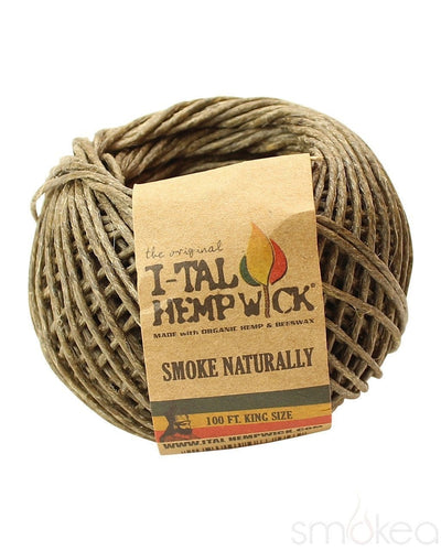 i-Tal King Size Hemp Wick - SMOKEA