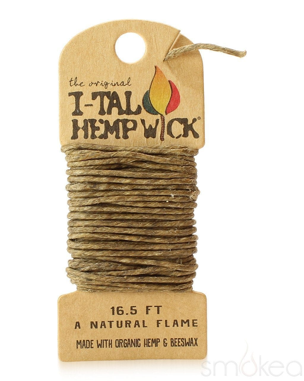 i-Tal Large Hemp Wick - SMOKEA