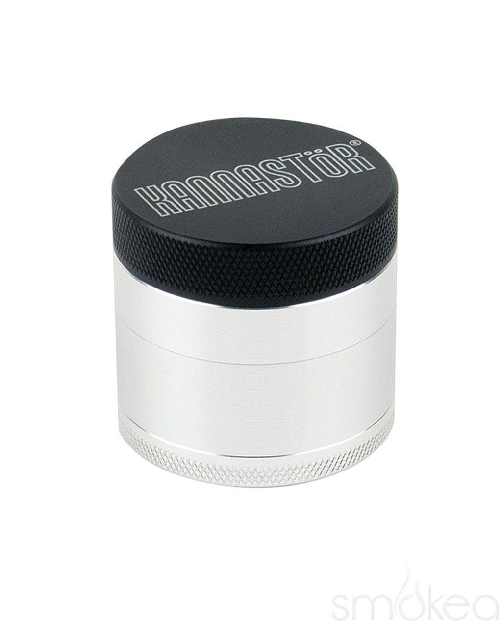 "Kannastor 1.5"" Solid Top 4pc Grinder - SMOKEA"
