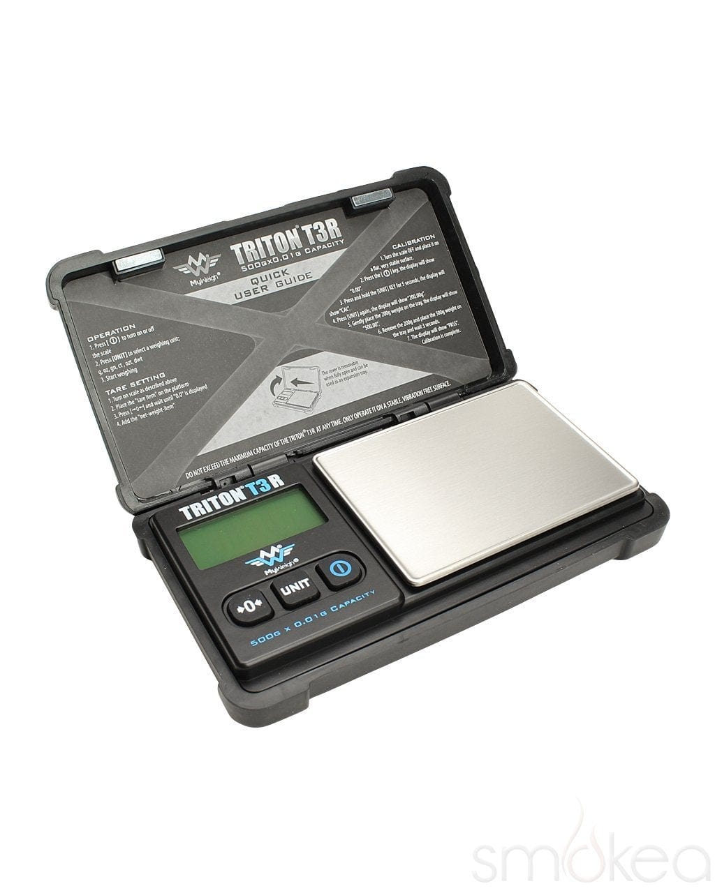 My Weigh Triton T3R 500 Rechargeable Digital Scale - SMOKEA
