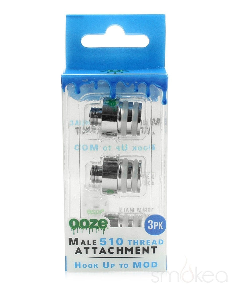 Ooze Male 510 Thread Attachment (3-Pack) - SMOKEA