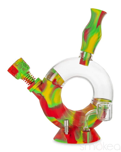 Ooze Ozone Silicone Water Pipe & Nectar Collector - SMOKEA