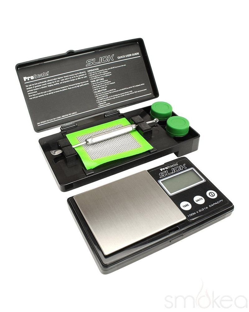 ProScale Slick Concentrate Kit and Digital Scale - SMOKEA